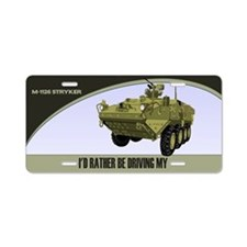 M-1126 Stryker License Plate
