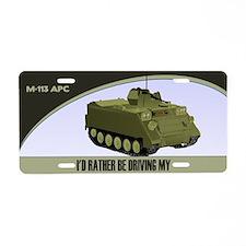 M-113 APC License Plate