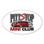 PittStop MINI Oval Sticker