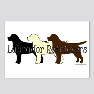 Labrador Retrievers Postcards (Package of 8)