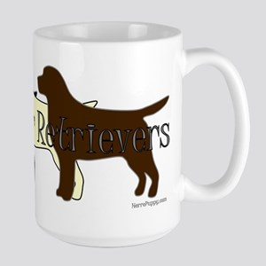 Labrador Retrievers Large Mug