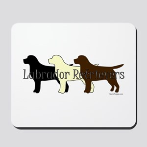 Labrador Retrievers Mousepad
