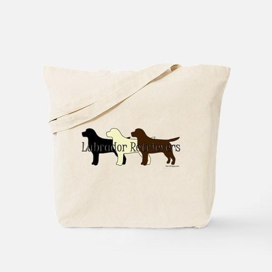 Labrador Retrievers Tote Bag