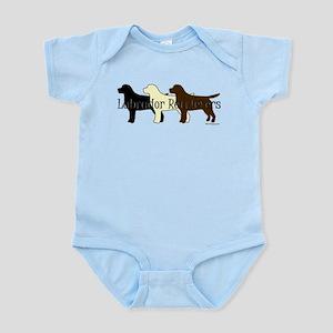 Labrador Retrievers Infant Bodysuit