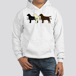Labrador Retrievers Hooded Sweatshirt