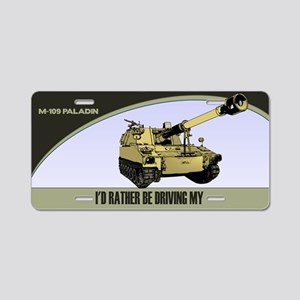 M-109 Paladin License Plate