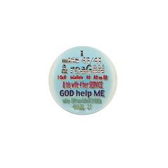 political Mini Button