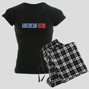 American Hero Women's Dark Pajamas