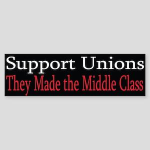 Democrat: Pro-Union II (Bumper)