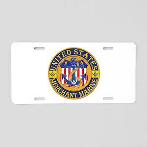 Merchant Marine Mason Aluminum License Plate