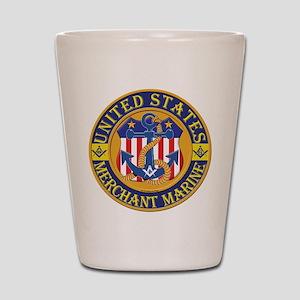 Merchant Marine Mason Shot Glass