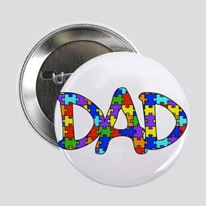 "Dad Autism Awareness 2.25"" Button"