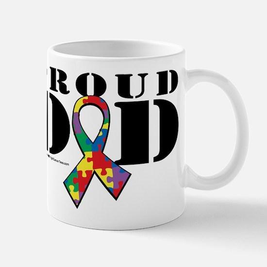 Autism Proud Dad Mug