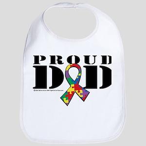 Autism Proud Dad Bib