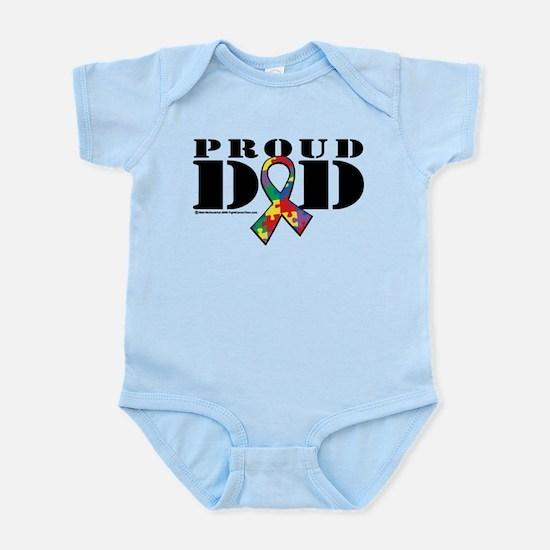 Autism Proud Dad Infant Bodysuit