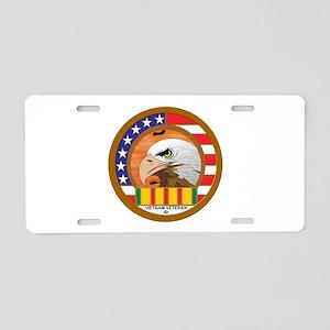 Masonic Vietnam Veteran Aluminum License Plate
