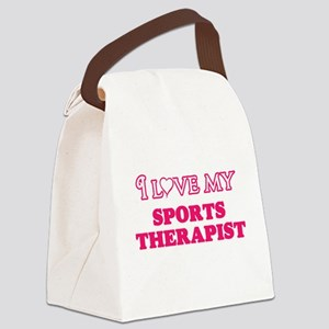 I love my Sports Therapist Canvas Lunch Bag