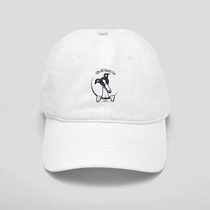7df9c87b1c7 White Black Greyhound IAAM Cap