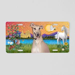Fantasy - Greyhound Aluminum License Plate