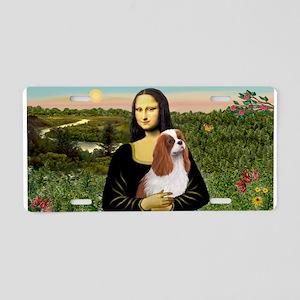 Mona Lisa/Cavalier (Blen) Aluminum License Plate