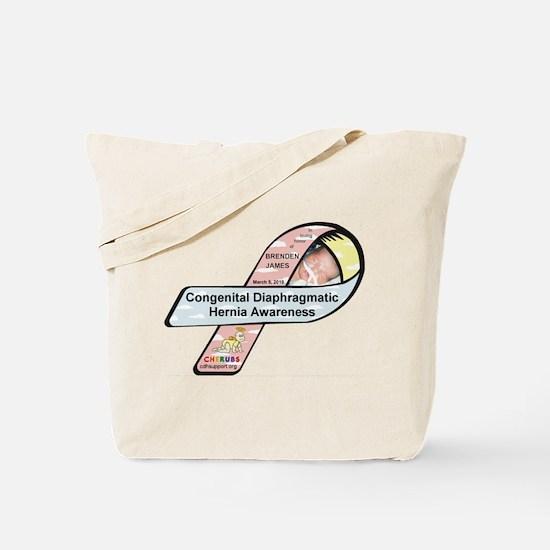 Brenden James CDH Awareness Ribbon Tote Bag