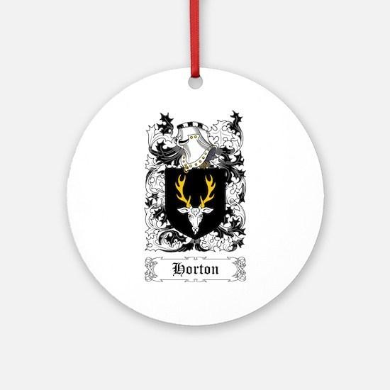 Horton Ornament (Round)