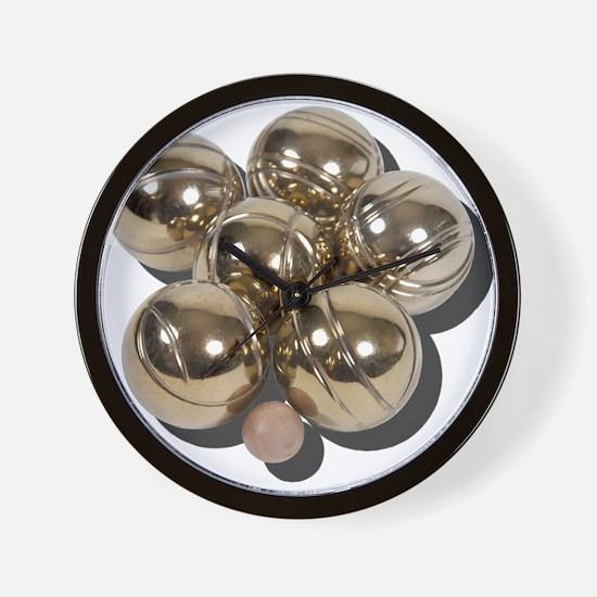Bocce Balls Wall Clock