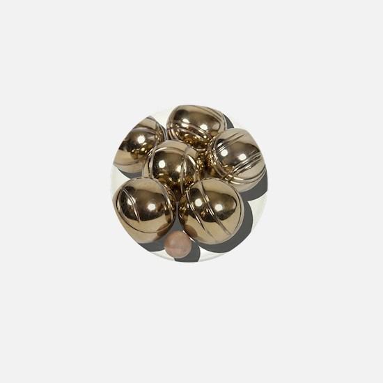 Bocce Balls Mini Button