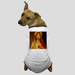 Sacred Heart of Jesus Christ Dog T-Shirt