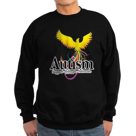Autism Phoenix Sweatshirt (dark)