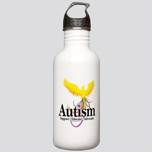 Autism Phoenix Stainless Water Bottle 1.0L