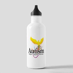 Autism Phoenix Stainless Water Bottle 1.0L