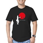 Help Japan Men's Fitted T-Shirt (dark)