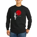 Help Japan Long Sleeve Dark T-Shirt