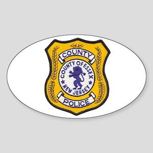 Essex County Police Sticker (Oval)