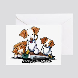 Duck Toller Greeting Cards (Pk of 20)