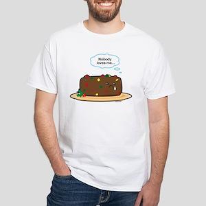 Poor Fruitcake White T-Shirt