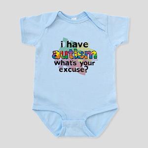 I Have Autism Infant Bodysuit