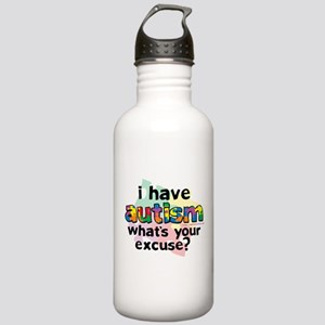 I Have Autism Stainless Water Bottle 1.0L