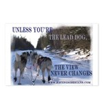 Lead Dog Postcards (Package of 8)