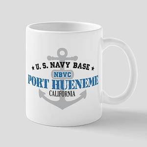 US Navy Port Hueneme Lake Bas Mug