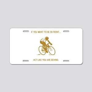 Be In Front STYLE B Aluminum License Plate