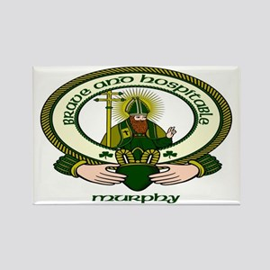 Murphy Clan Motto Rectangle Magnets (10 pack)