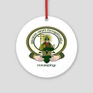 Murphy Clan Motto Ornament (Round)