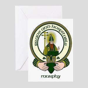 Murphy Clan Motto Greeting Cards (Pk of 10)