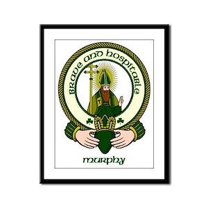 Murphy Clan Motto Framed Print