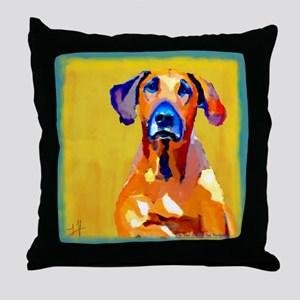 Nelson Dog Throw Pillow
