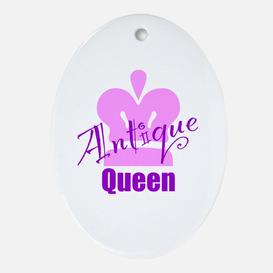 Antique Queen Ornament (Oval)
