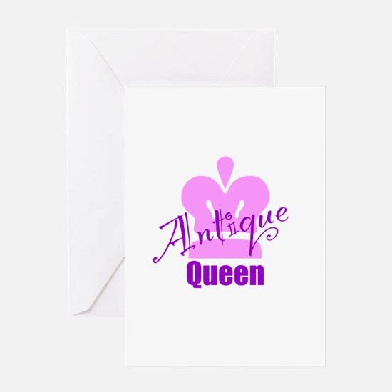 Antique Queen Greeting Card