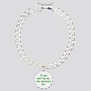 Tip Me Charm Bracelet, One Charm